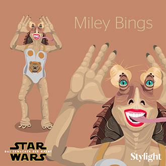 felipe-communication-design-Stylight-Starwars-Karl-Miley-Cyrus